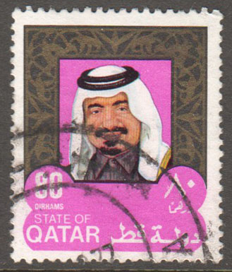 Qatar Scott 513 Used