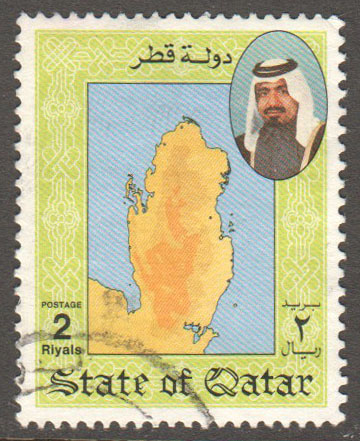 Qatar Scott 797 Used
