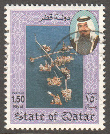 Qatar Scott 796 Used