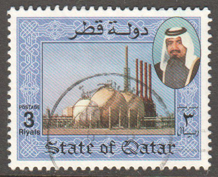 Qatar Scott 798 Used
