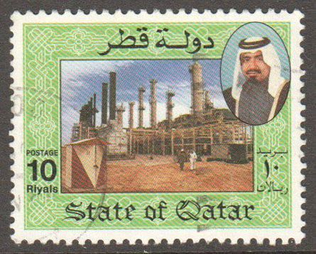 Qatar Scott 801 Used