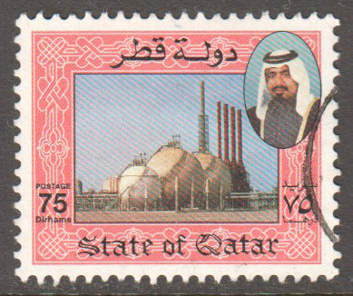 Qatar Scott 794 Used