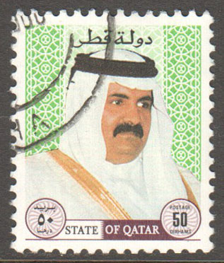 Qatar Scott 882 Used
