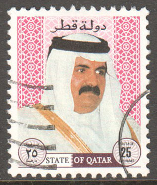 Qatar Scott 881 Used
