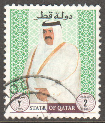 Qatar Scott 886 Used