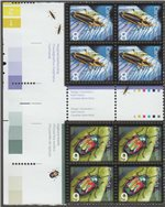 Canada Scott 2409+2410 MNH LS (A9-10) Gutter Blocks
