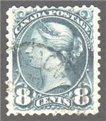 Canada Scott 44b Used VF
