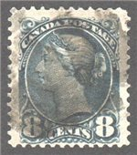 Canada Scott 44c Used VF