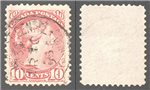 Canada Scott 45a Used VF (P)