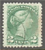 Canada Scott 36d Used VF