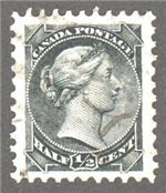 Canada Scott 34 Used VF