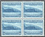 Newfoundland Scott 210 Mint VF Block