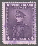 Newfoundland Scott 188 Used F