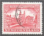 Newfoundland Scott 215 Used VF