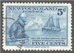 Newfoundland Scott 252 Used VF