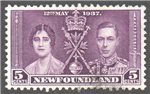 Newfoundland Scott 232 Used VF