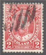 Newfoundland Scott 105 Used VF