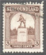 Newfoundland Scott 133 Used F