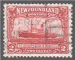 Newfoundland Scott 146 Used VF