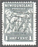 Newfoundland Scott 253 Used F