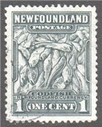 Newfoundland Scott 253 Used VF