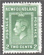 Newfoundland Scott 254 Used F