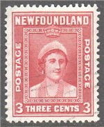 Newfoundland Scott 255 Used VF