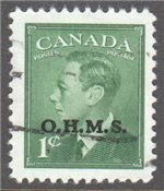 Canada Scott O12 Used VF
