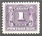 Canada Scott J1 Used VF