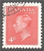 Canada Scott 287 Used VF