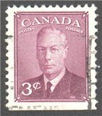 Canada Scott 286bs Used VF