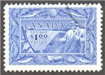 Canada Scott 302var Used VF