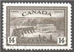 Canada Scott 270 Used VF