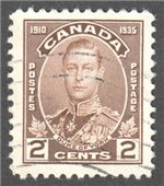 Canada Scott 212 Used VF
