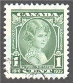 Canada Scott 211 Used VF