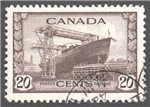 Canada Scott 260 Used VF