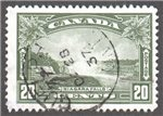 Canada Scott 225 Used VF