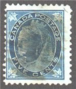 Canada Scott 70 Used SF