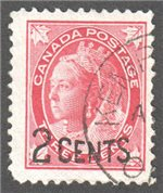 Canada Scott 87 Used VF