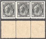 Canada Scott 66 MNH Strip VF (P)