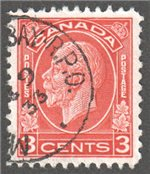 Canada Scott 197c Used VF