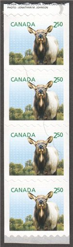 Canada Scott 2714 MNH End Strip (A11-15)