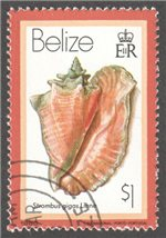 Belize Scott 484 Used