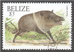 Belize Scott 1129 Used