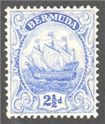 Bermuda Scott 44 Mint