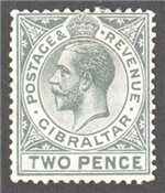 Gibraltar Scott 68 Mint