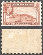 Gibraltar Scott 108a Mint (P)
