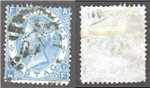 Great Britain Scott 55 Used Plate 1 - AF (P)