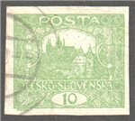 Czechoslovakia Scott 43a Used