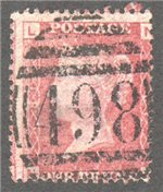 Great Britain Scott 33 Used Plate 81 - NL